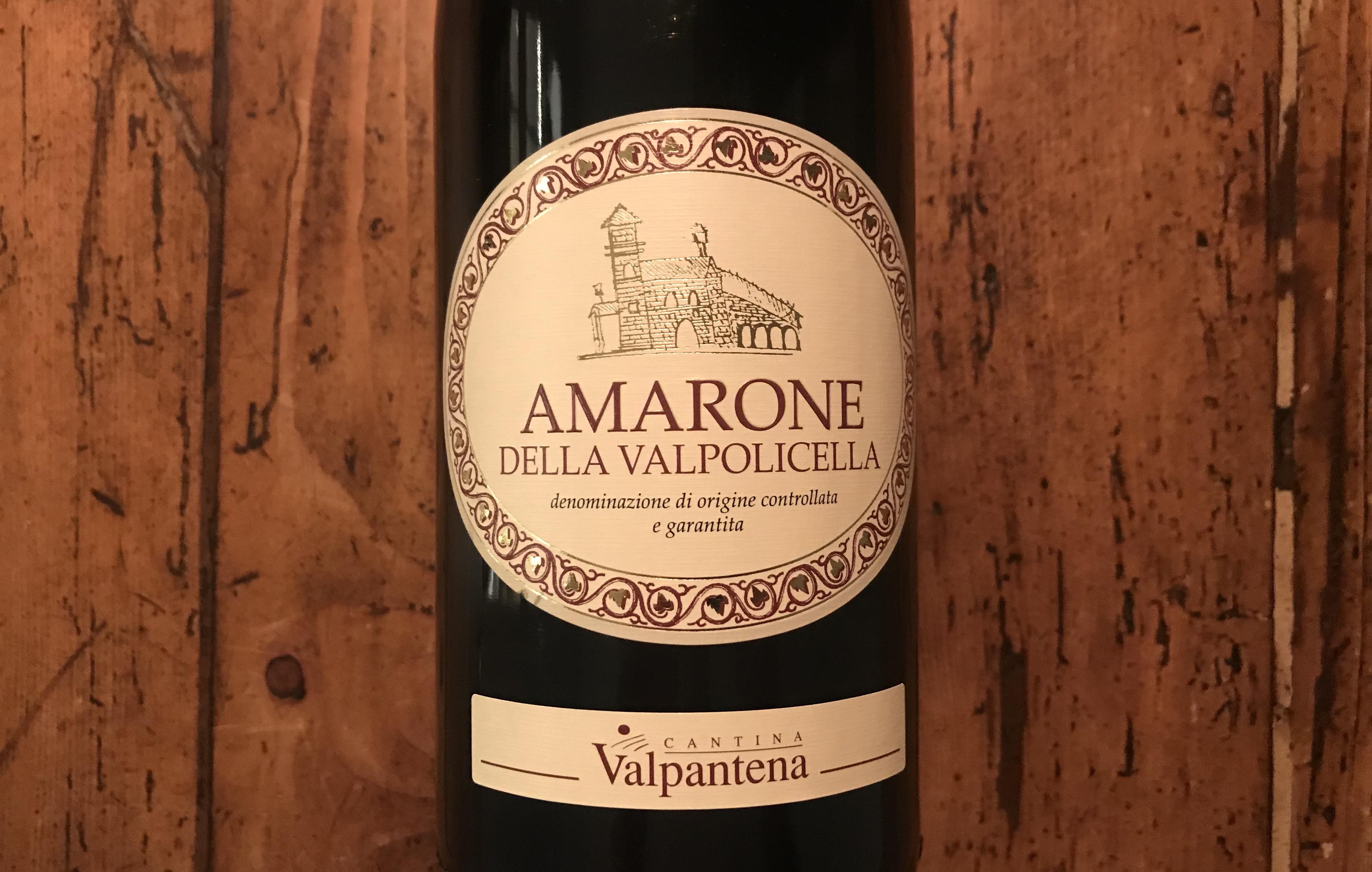 Lille Amarone let på tå
