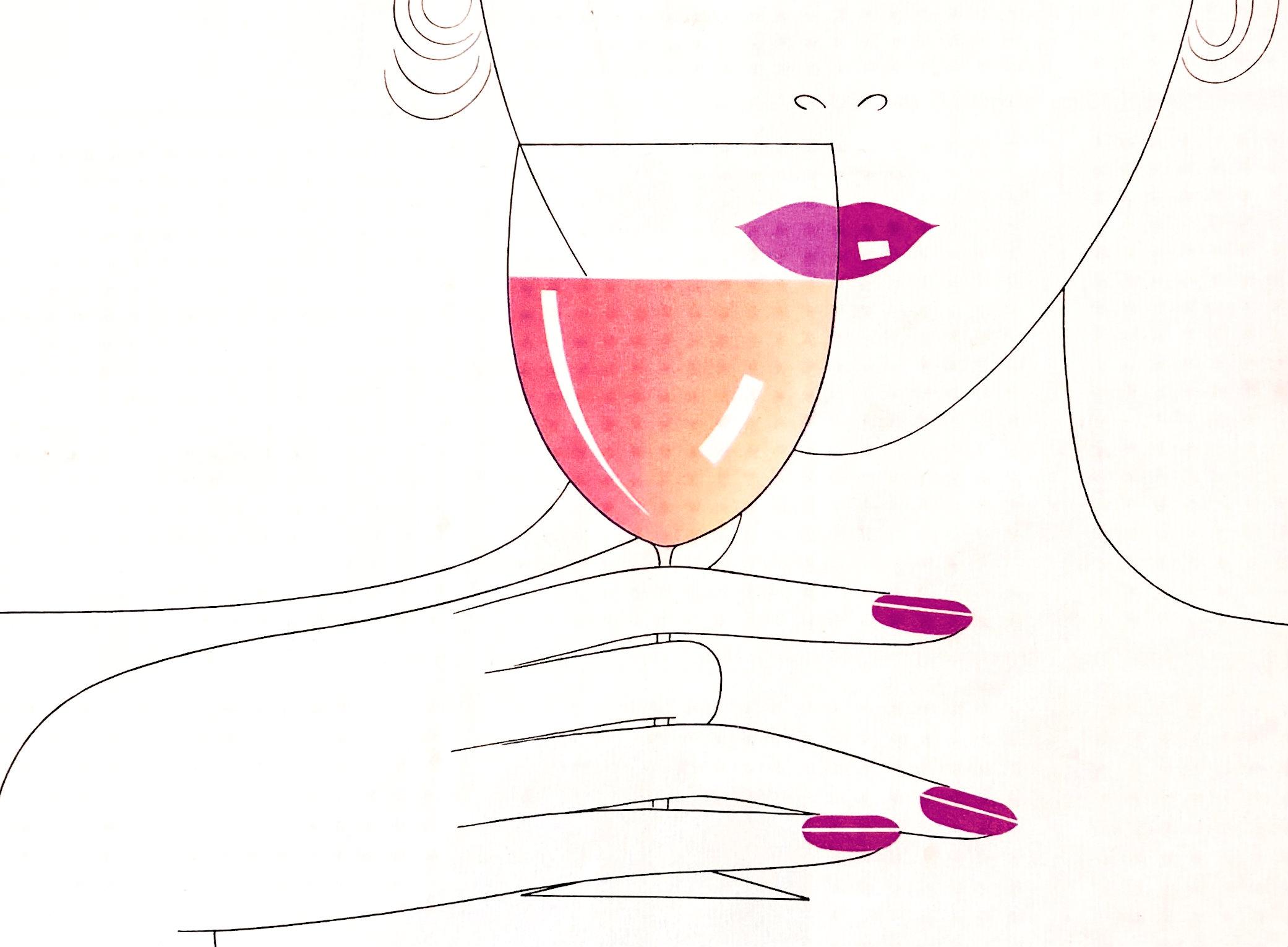 Rosé-test din vinhandel