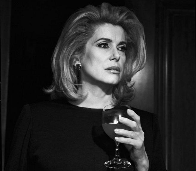 Et glas rødvin med Catherine Deneuve