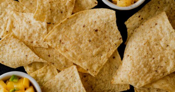 Hjemmelavede tortillachips