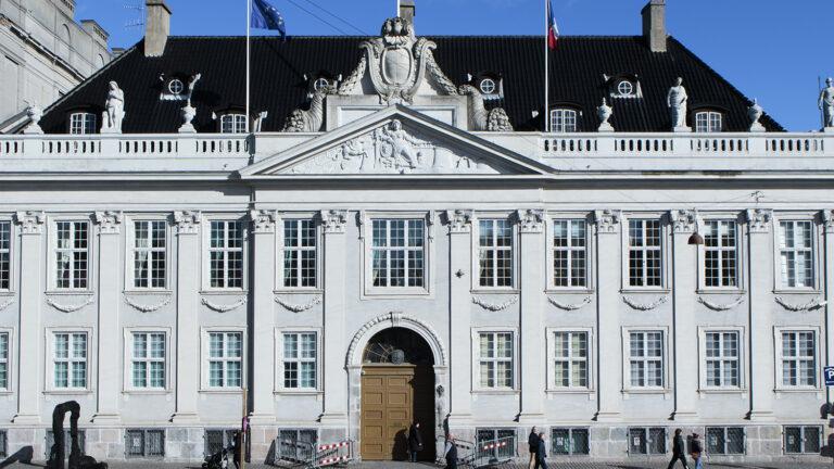 Den franske ambassade Det Thotske palæ