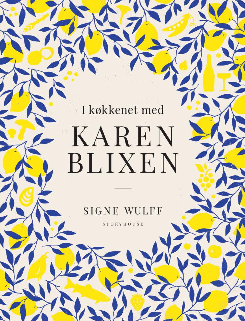 Forside I køkkenet med Karen Blixen