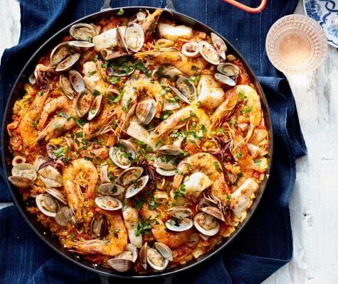 Arroz de marisco – portugisisk ris med skaldyr