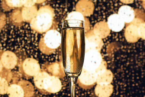 Nytårs-champagne og andet dejligt skum